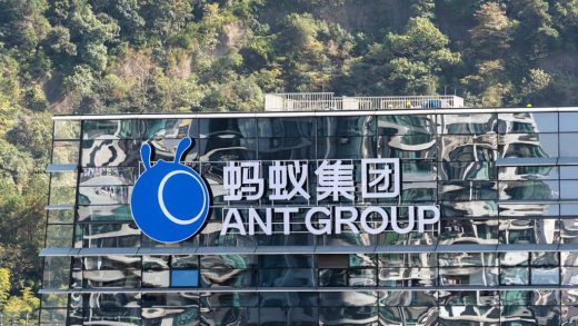 Ant Group Grab Holdings Singapore