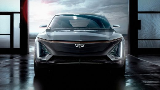 GM Cadillac electric cars