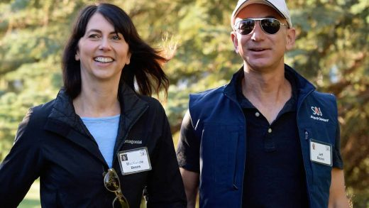 MacKenzie Scott Jeff Bezos