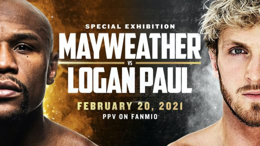 Floyd Mayweather is fighting Logan Paul in February