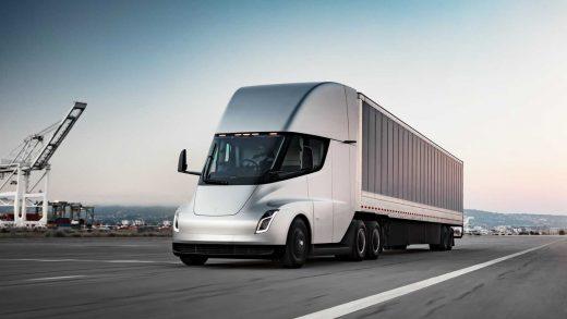 Tesla Semi Volvo VNR Electric Class 8 truck