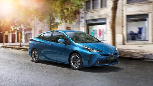 A Toyota Motor Corp. Prius hybrid electric vehicle. While hybrids are now more than two decades old, they're seeing demand even as EVs loom large. | BLOOMBERG