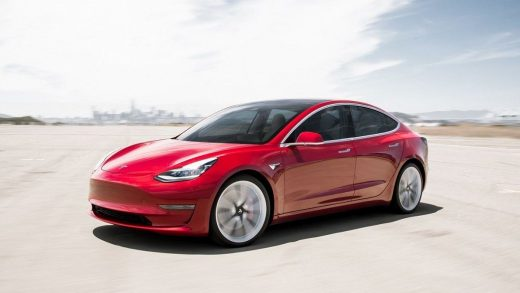 Relegated to second place: Tesla Model 3.