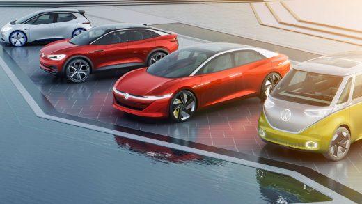 Volkswagen Tesla China