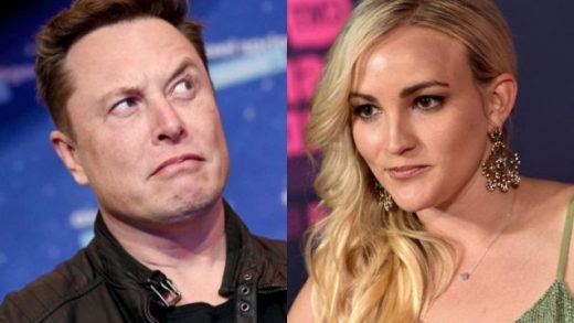 Tesla's CEO Elon Musk and actress Jamie Lynn Spears. Britta Pedersen-Pool/Getty Images, John Shearer/WireImage via Getty Images