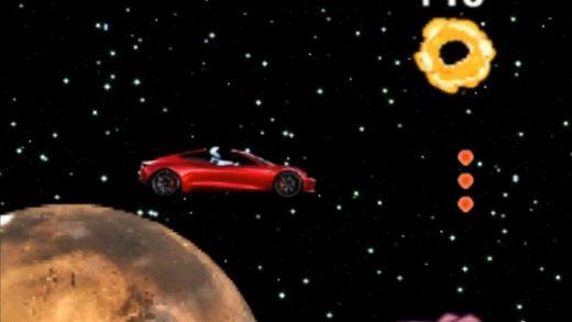 SpaceX video game Tesla Elon Musk Mars