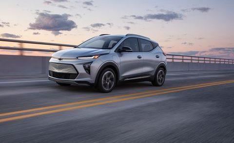 2022 Chevrolet Bolt EV and Bolt EUV. Chevrolet