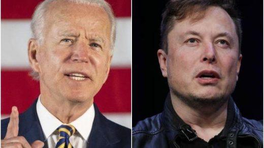 Elon Musk and Biden
