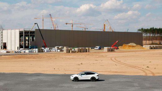 Tesla Berlin Gigafactory.