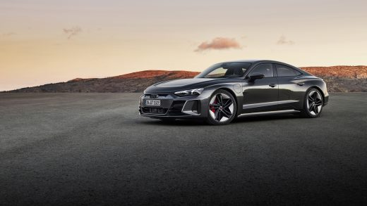 Audi's e-Tron GT looks like a cross between an A7 and a TT coupe