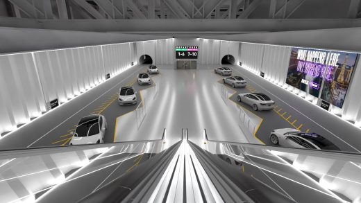 The Boring Company's Las Vegas tunnels LVCC Loop