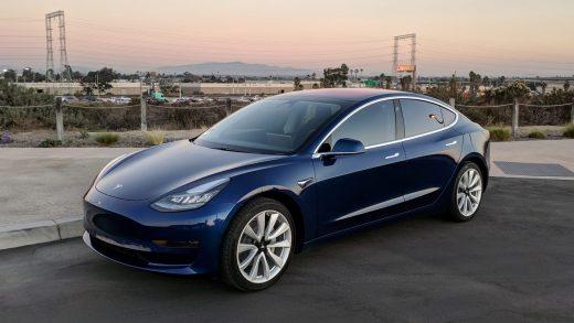 Tesla Model 3. Tesla