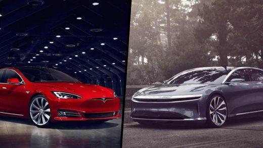 Lucid Air vs Tesla Model S