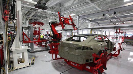 Tesla's manufacturing