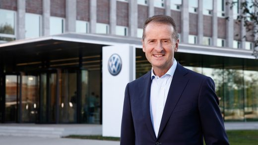 Volkswagen's CEO Herber Diess