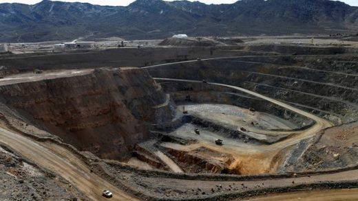 FILE PHOTO: General view of Nevada Copper's Pumpkin Hollow copper mine in Yerington, Nevada, U.S., January 10, 2019