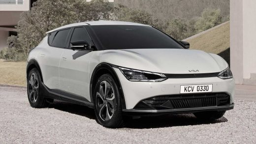 KIA reveals first images of upcoming EV6