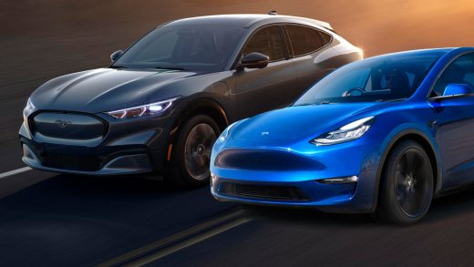 Ford Mustang Mach-E is and Tesla