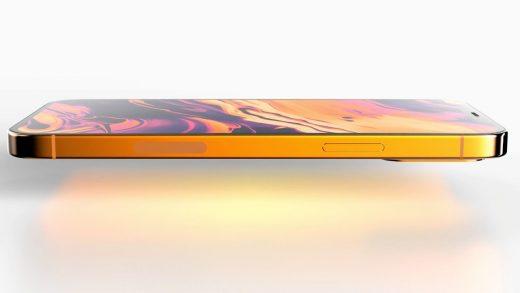 "Render of a purported bronze ""iPhone 13 Pro"" design"