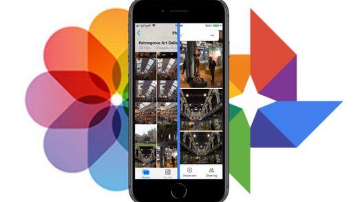 Apple iCloud Photo Library Google Photos