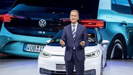 VW Group CEO Herbert Diess