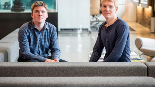 Peter Thiel Facebook Patrick and John Collison Stripe PayPal Silicon Valley's