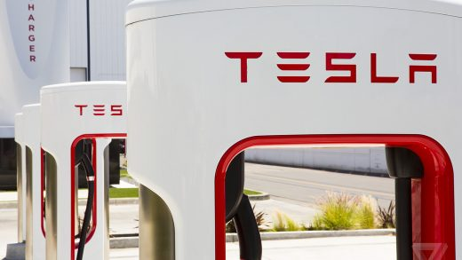 Tesla Elon Musk Santa Monica Supercharger