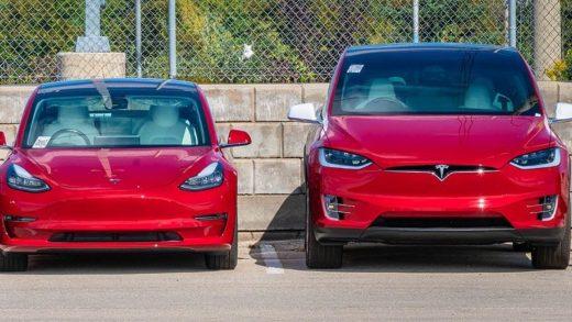 Tesla Model 3 Model X