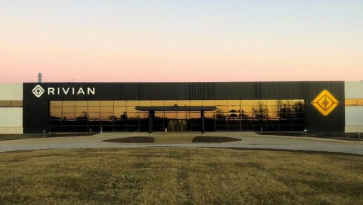 Rivian's manufacturing facility in Normal, Illinois. Source: Rivian