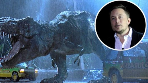 Elon Musk dinosaurs
