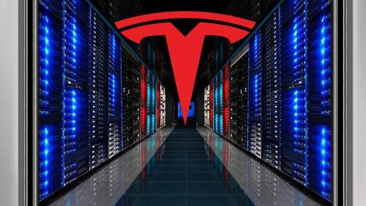Tesla supercomputer.