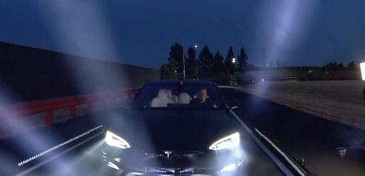 Tesla Model S Plaid. Elon Musk