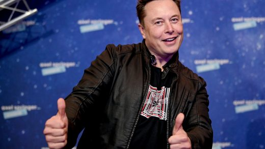 """FILE - In this Tuesday, Dec. 1, 2020 file photo, SpaceX owner and Tesla CEO Elon Musk arrives on the red carpet for the Axel Springer media award, in Berlin, Germany. Technology mogul Elon Musk has a lined up a new gig in addition to his jobs as CEO of electric car maker Tesla and spaceship maker SpaceX. He is going to host the iconic TV show """"Saturday Night Live """" on May 8, 2021. (AP Photo/Britta Pedersen, Pool, File)"""