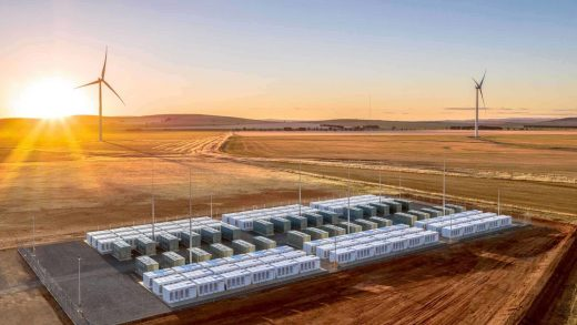 Australia Tesla Megapack Battery