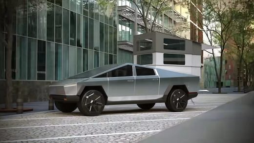 CyberLandr, the Cybertruck Dream RV Elon Musk