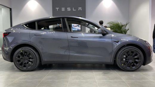 Tesla China-made Model Y SR