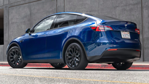 The Tesla Model Y. (Credit: MotorTrend)