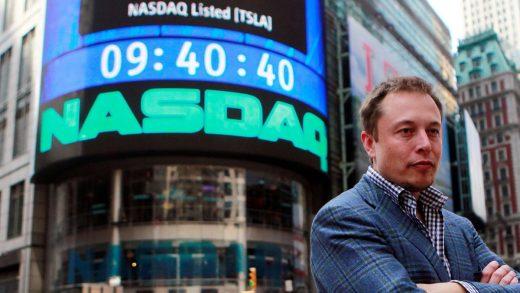 CEO Tesla Elon Musk Nasdaq