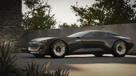 The Audi skysphere concept. AUDI
