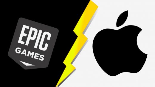 Epic Games and Apple Store