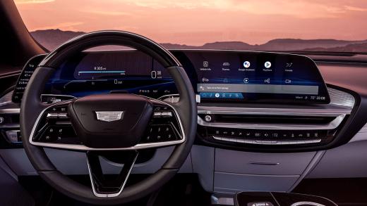 Cadillac Lyriq Android Automotive