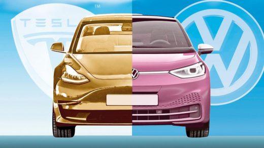 VW's Diess Musk's EV market